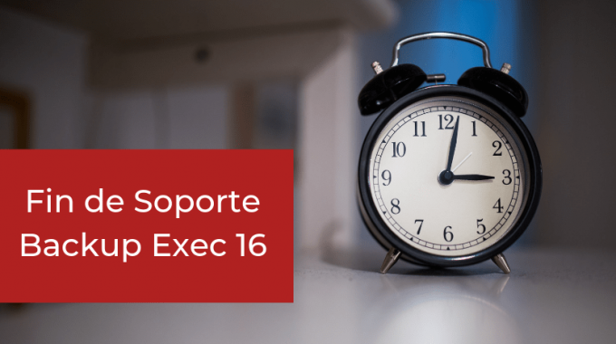 Fin De Soporte Backup Exec 16