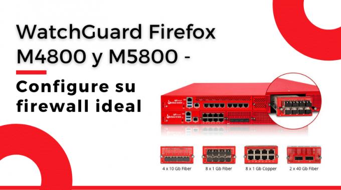 Watchguard Firebox M4800 M5800