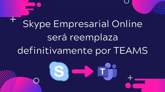 Skpye Empresarial Se Reemplaza Por Teams