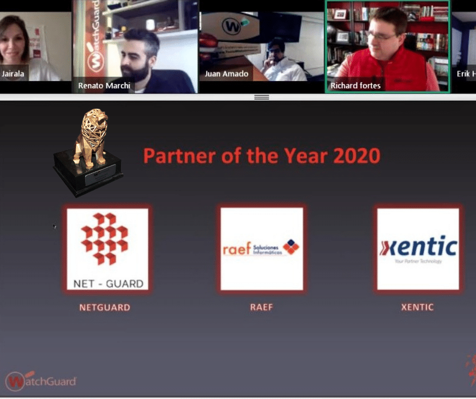 xentic partner of the year watchguard